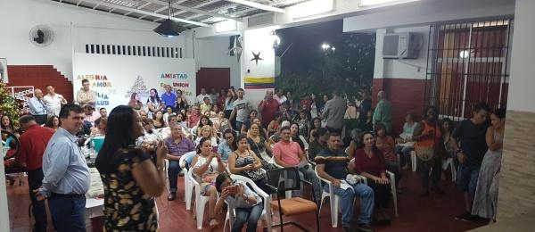 Así se vivió la Noche de Velitas en el Consulado de Colombia