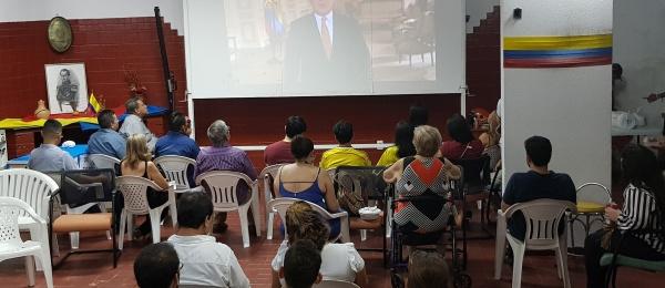 Colombianos en Manaos celebraron en comunidad el Bicentenario de la Independencia Nacional