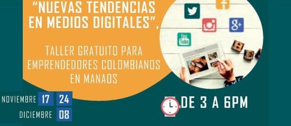Consulado de Colombia en Manaos realiza el taller Nuevas Tendencia en Medios Digitales en 2018